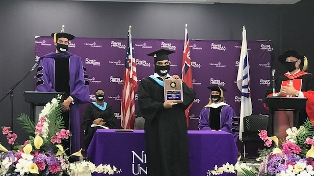 Niagara University in Ontario Celebrates Commencement Ceremony for its First Graduating Class from Vaughan
